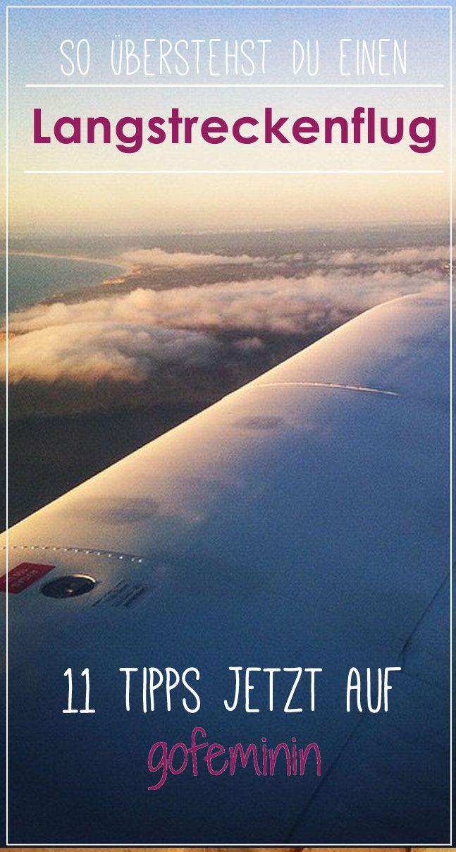 11 Tipps für mehr Komfort: So überstehst du einen Langstreckenflug. Zu finden auf http://www.gofeminin.de/reise/tipps-fur-langstreckenflug-s1514615.html