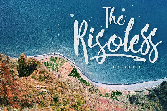 Risoless Script by Konstantine Studio on @creativemarket