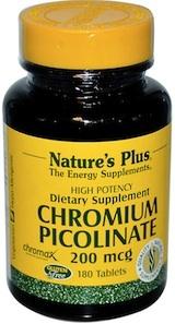 chromium picolinate = stop craving sugar