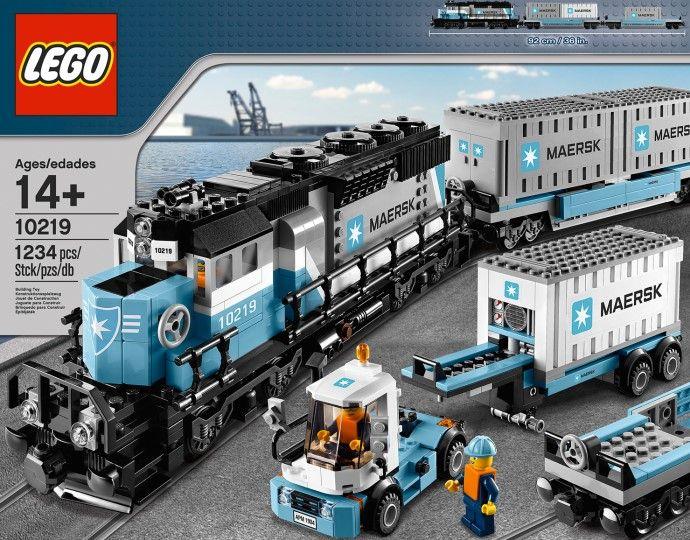 Lego City Trains 10219 Maersk Train New in Factory SEALED Box | eBay