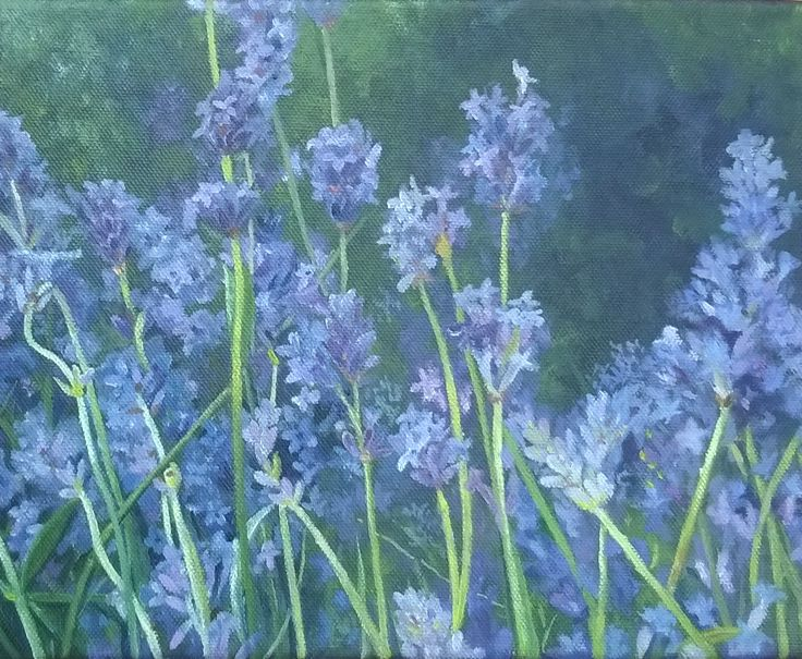 lavender painting <3 by ; Ebvs