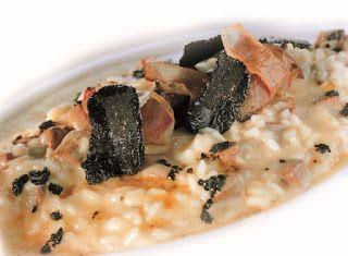 Cucinare che Passione: Risotto ai fegatelli di anatra, tartufo nero e Grana Padano