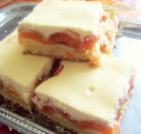 Marhuľový koláčik s polevou