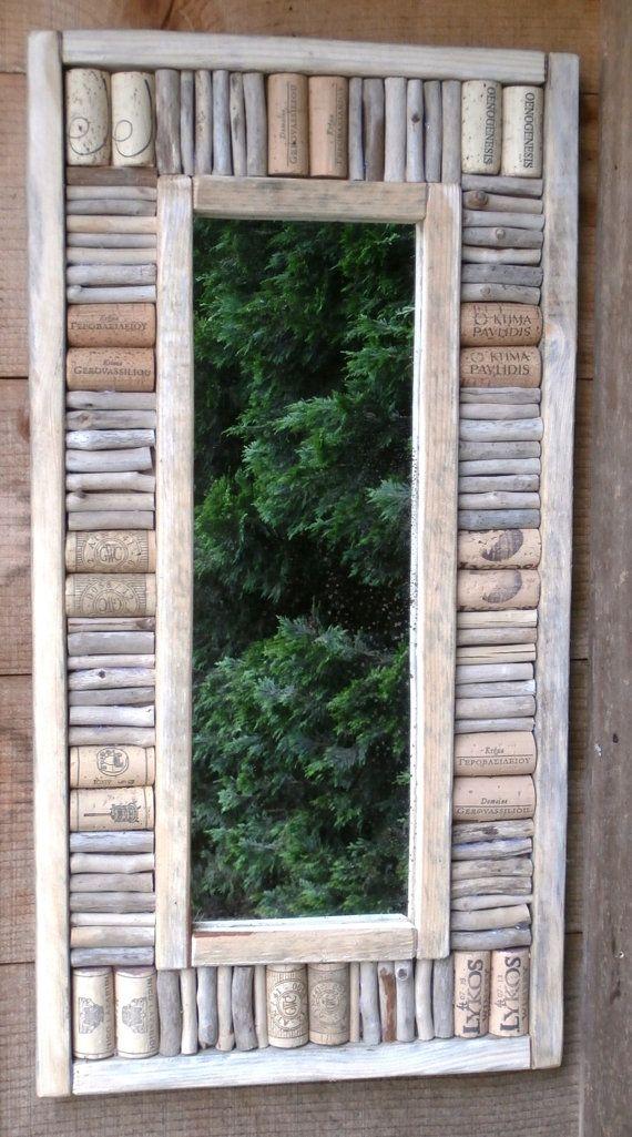 25 beste idee n over drijfhout spiegel op pinterest schelpenlijst drijfhout ambachten en - Amenager een stuk in de lengte ...