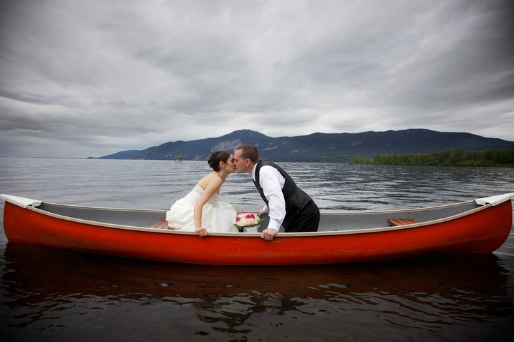 Lake Wedding.  www.fraservisuals.com