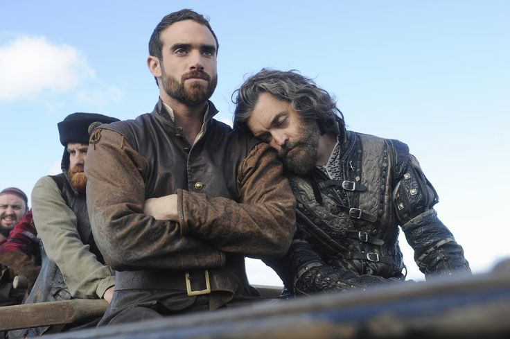 Galavant (Joshua Sasse) and King Richard (Timothy Omundson)