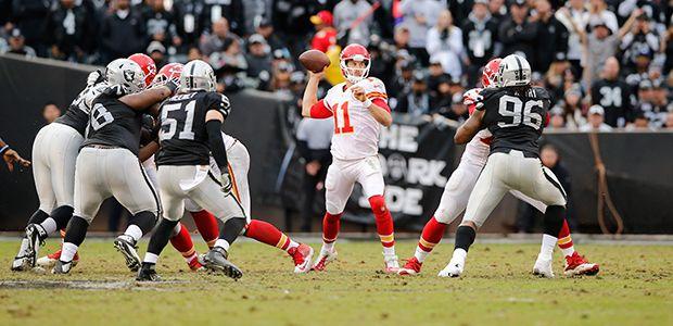 Chiefs vs. Raiders: Five Things to Watch