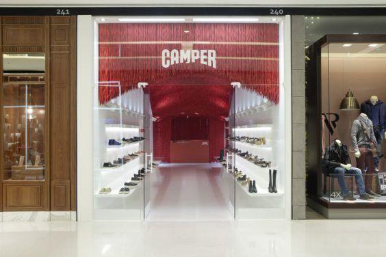 Chiêm ngưỡng thiết kế showroom giày Camper ấn tượng tại Tây Ban Nha
