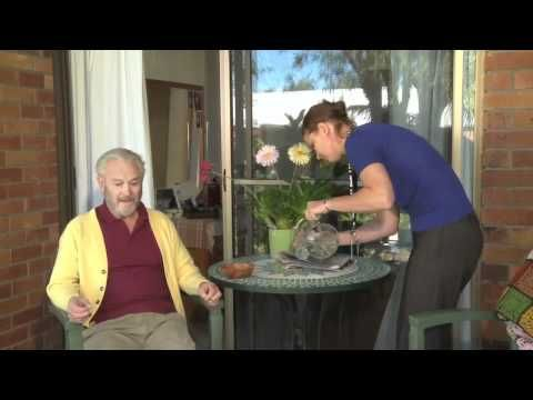 This clip is about communication techniques for dementia care.