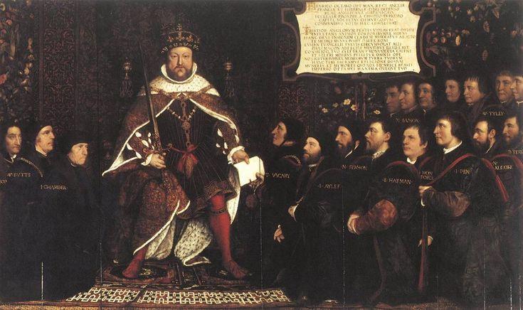 Ο Ερρίκος VII με κουρείς και χειρουργούς (1543)