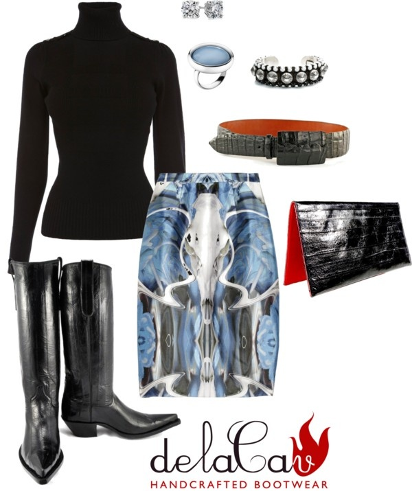 """delaCav Santa Fe in the City Style"" by delacav ❤ liked on Polyvore"