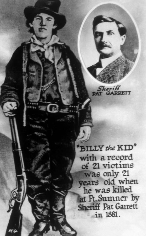 William H. Bonney Aka Billy The Kid Photograph