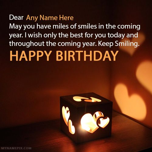 Write Name On Best Birthday Wishes With Picture In Beautiful Style App To Names Collection Of Birth