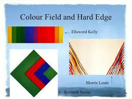 Image result for hard edge abstraction
