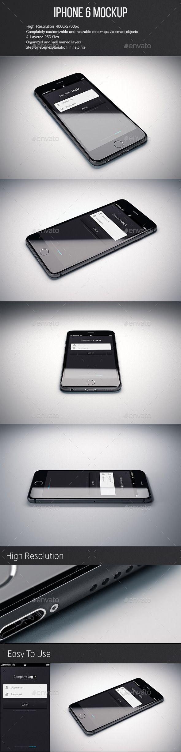 Iphone 6 Mockup #design Download: http://graphicriver.net/item/phone-6-mockup/12729261?ref=ksioks