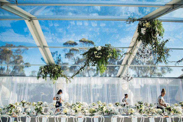 Nadia Coppolino + Jim Bartel : Marquee wedding by The Style Co.