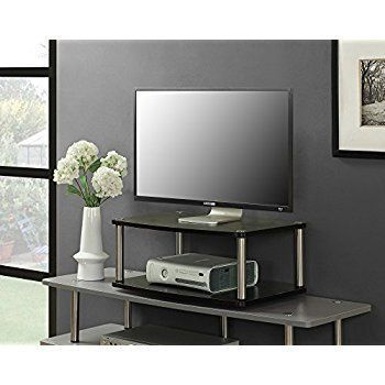 Convenience Concepts Designs-2-Go 2-Tier Swivel TV Stand