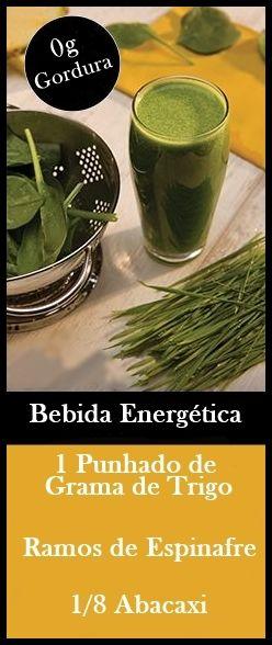 As 10 Bebidas Energéticas Naturais Feitas em Casa #juice #suco #receita #dicas #saude #salud #health