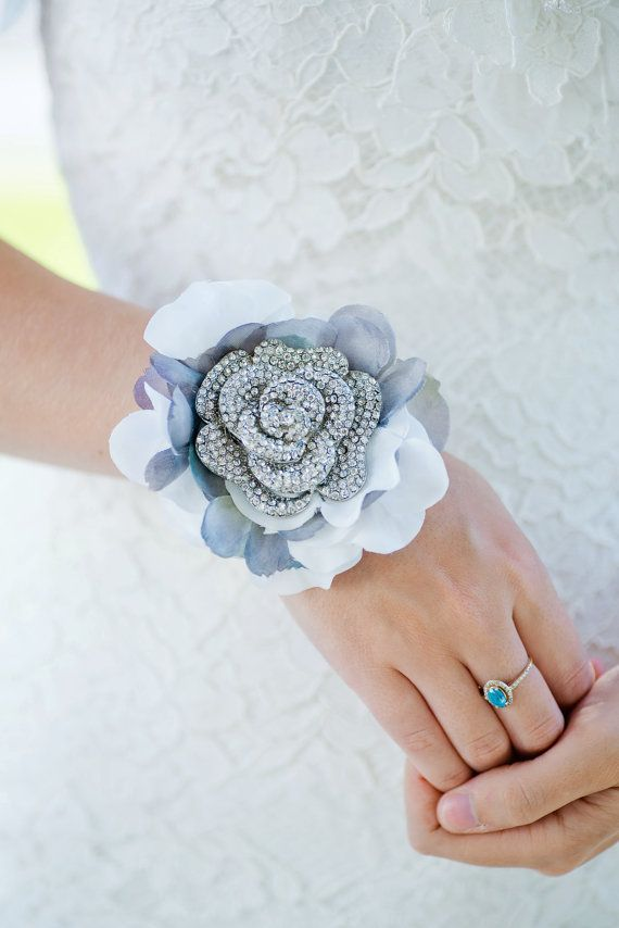 Custom Mother of the bride Corsage Brooch Corsage by Mlleartsy
