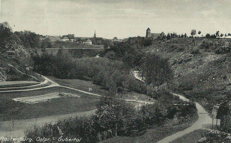 Rastenburg Ostpr. Gubertal um 1938.