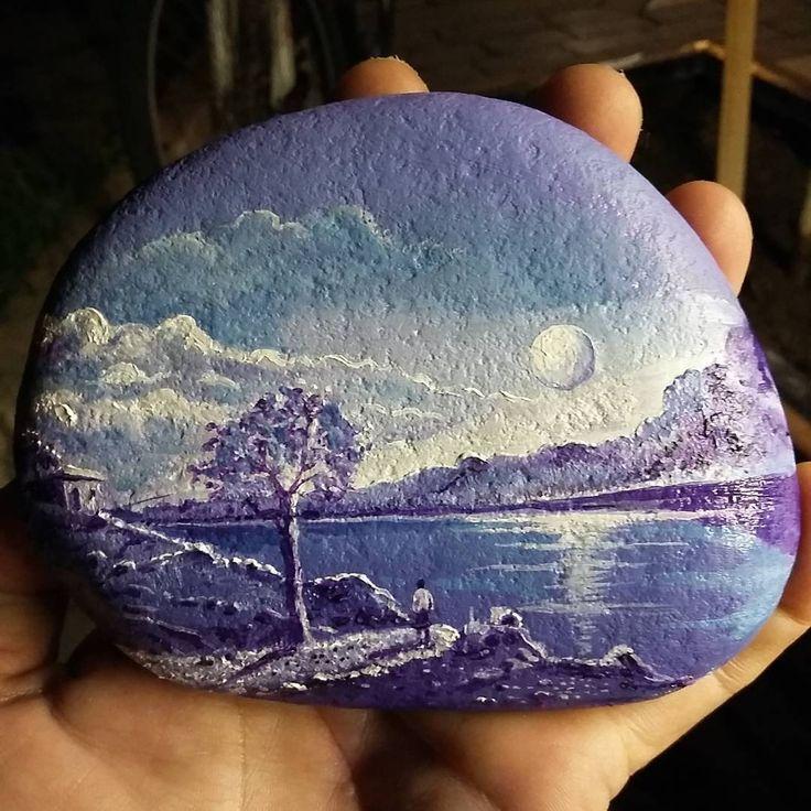 amazing rock painting