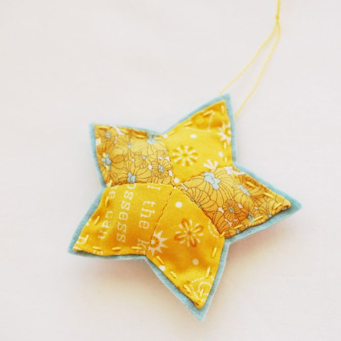 25 crafts of christmas // English Paper Piecing star ...