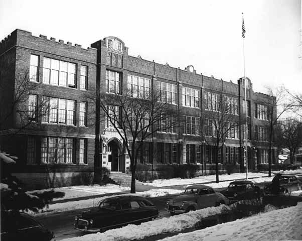 Red Wing Central High School Circa 1954 From Mn History