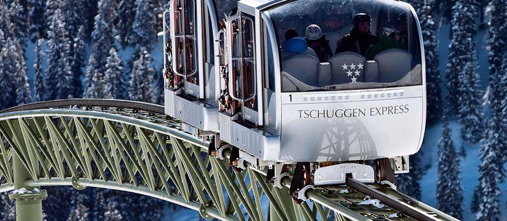 Tschuggen Express, Arosa, Switserlân