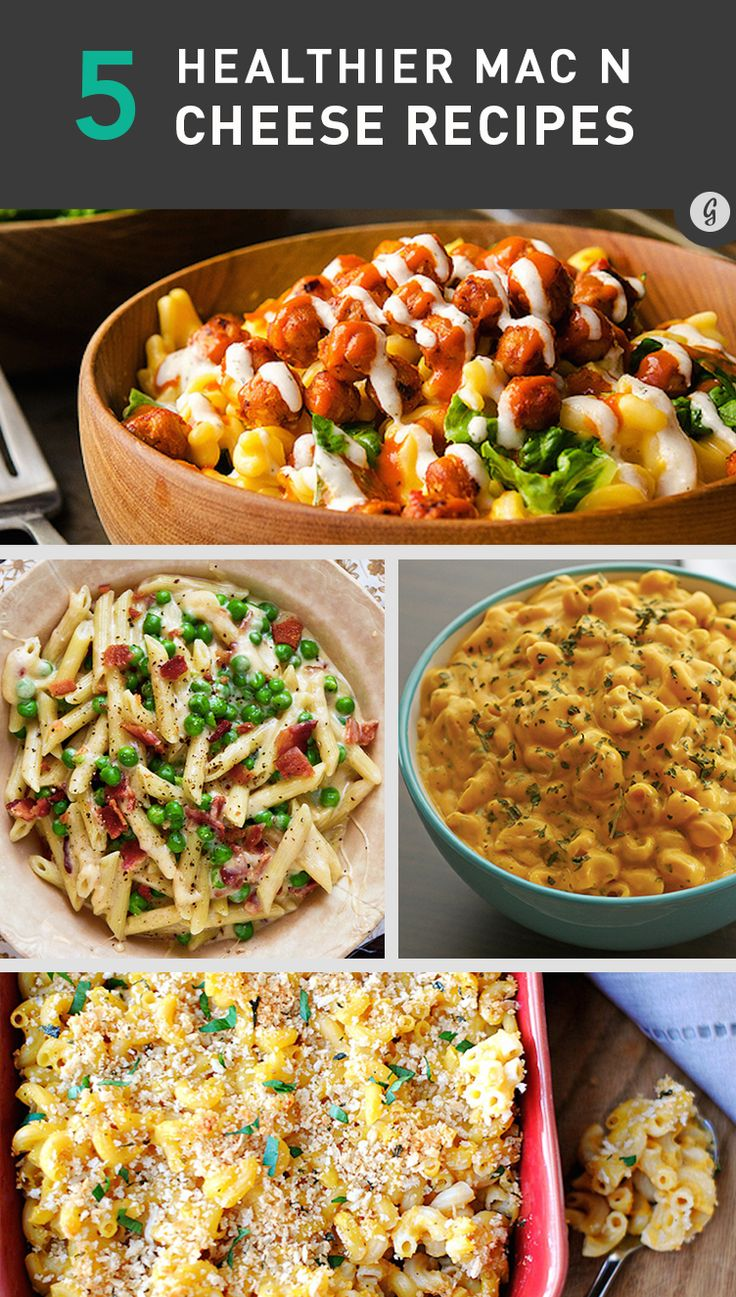 Warm, cheesy, and gooey, macaroni and cheese is a fall and winter favorite for a reason. Try these lighter versions of the classic comfort food to stay healthy all season long.  #healthy #cheese #comfortfood http://greatist.com/health/best-healthy-mac-and-cheese-recipes-101413