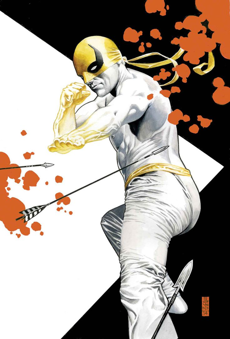 """comicblah: """"Iron Fist: The Living Weapon #2 variant cover by J.G. Jones """""""