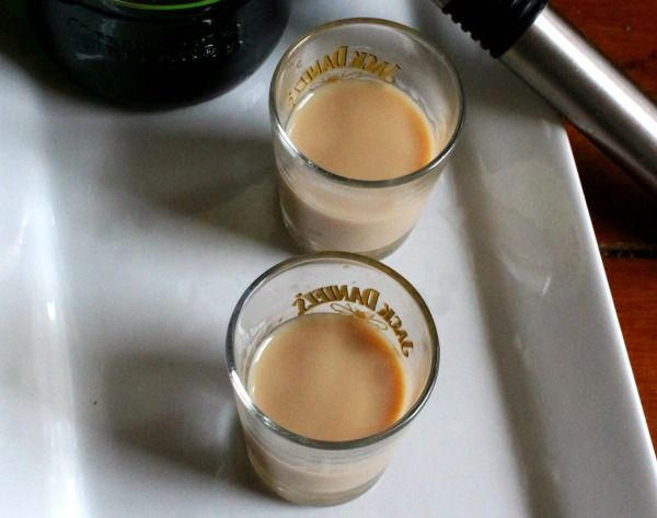 Low-Carb Perverted Irishman Whiskey Shooters Recipe via @Marye at Restless Chipotle