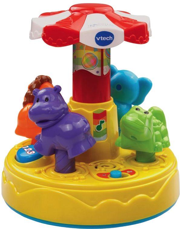 jouets musicaux manège vtech