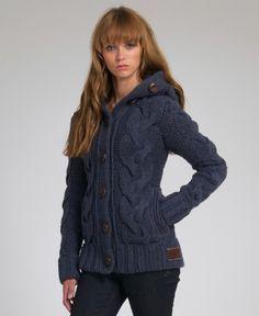jacketas de punto con capucha - Buscar con Google
