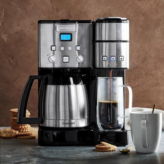 Cuisinart Coffee Center And Single Serve Brewer With Glass Carafe Coffee Center Coffee Maker Stainless Steel Coffee Maker