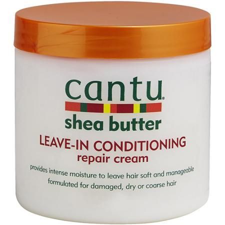 Cantu Shea Butter Leave-in Conditioning Repair Cream is my go-to leave in conditioner and moisturizer.    | arelaxedgal.com