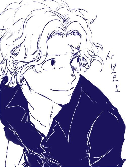 I really like this one! Makes me think of a little younger Sabo than the one we've been introduced to lately but older than the one in the flashbacks!