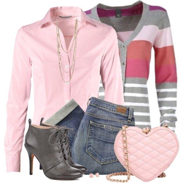 """""""Pink Heart Bag"""""""