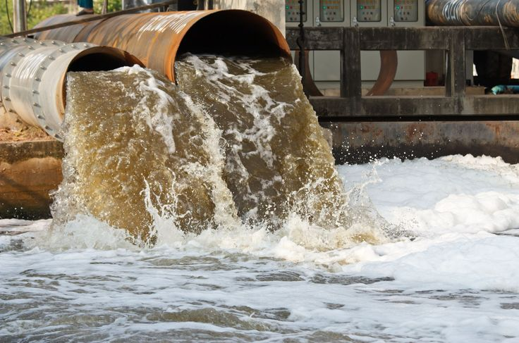 What are the major causes of water pollution in India?
