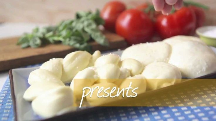 Make your own fresh mozzarella cheese. Excellent for pizza.
