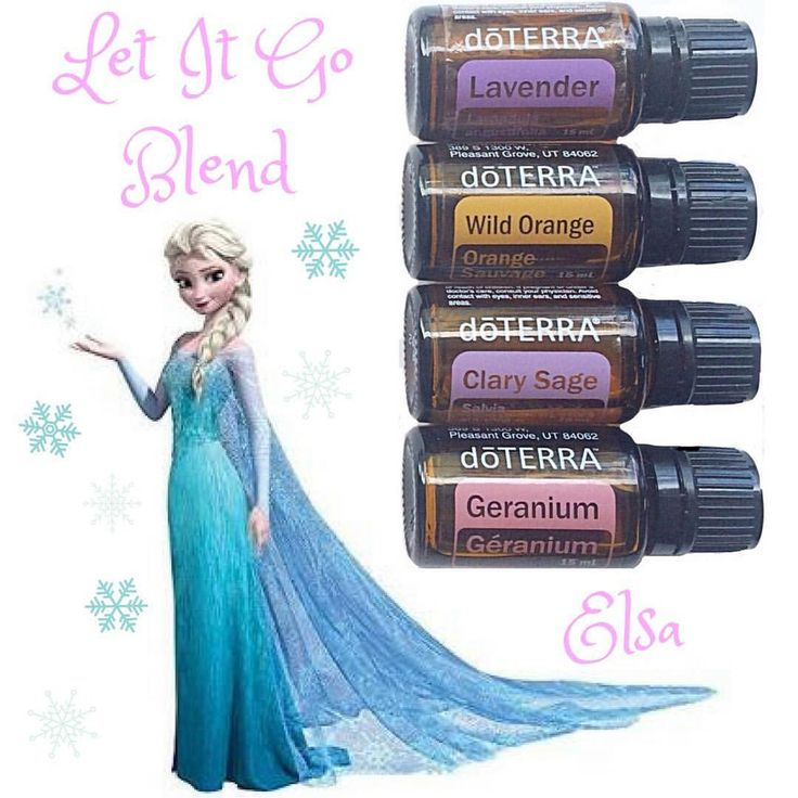 Disney Princess Essential Oil Blend Series ❄️ • The Let It Go Blend was inspired by Frozen, a very popular Disney movie that kids love today. This blend will help cleanse and clear your space of negativity. Do you know anyone that sucks the positive energy out of a room? Pop this blend into your diffuser to bring back the happiness and peace. You can even place 1 drop of each oil onto a diffuser bracelet to cleanse your personal space. • 2 drops Lavender 2 drops Wild Orange 1 drop Geranium 1…