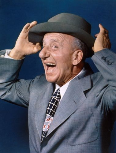 """James Francis """"Jimmy"""" Durante (February 10, 1893 – January 29, 1980) an Italian American singer, pianist, comedian, and actor."""