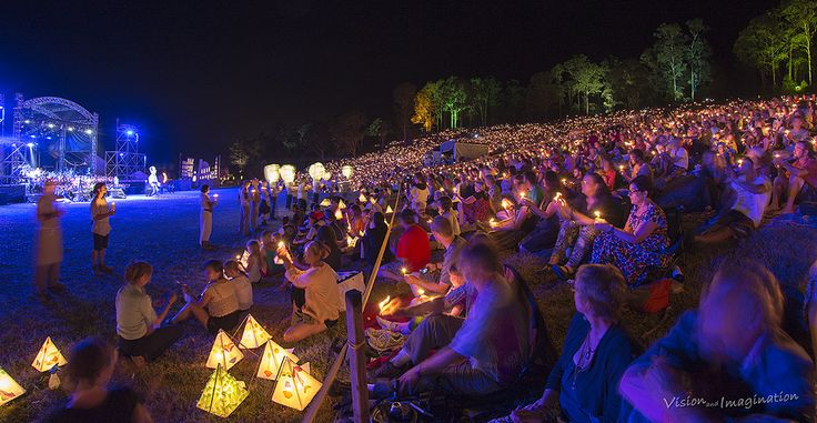 Woodford Folk Festival - The Fire Event  #thisisqueensland