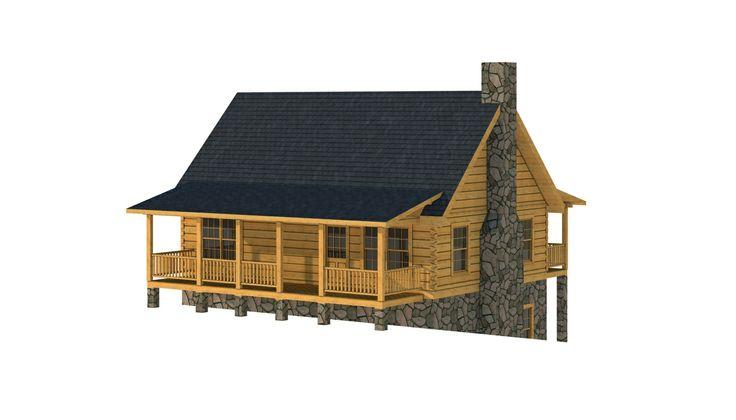 Hertford - Log Home / Cabin Plans | Southland Log Homes