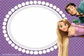 Resultado de imagen para rapunzel invitacion
