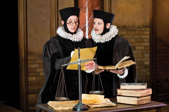 why do portia and nerissa disguise as men This literature quiz is called 'the merchant of venice a golden mesh t'untrap the hearts of men portia and nerissa have disguised themselves as men.