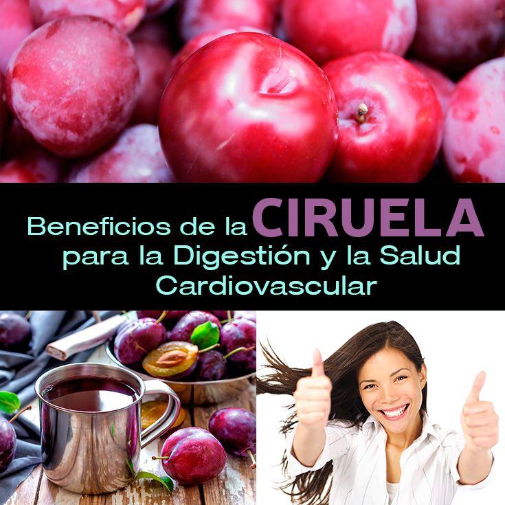 9 Beneficios De La Ciruela Para Tu Salud Digestiva Y Cardiovascular - La Guía de las Vitaminas