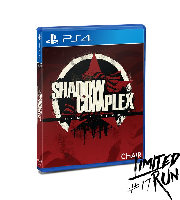 Shadow Complex Remasteredphysical disc for the PlayStation 4. Only 6900 copies available for sale. Region free. WARNING: Limit ONE per customer.