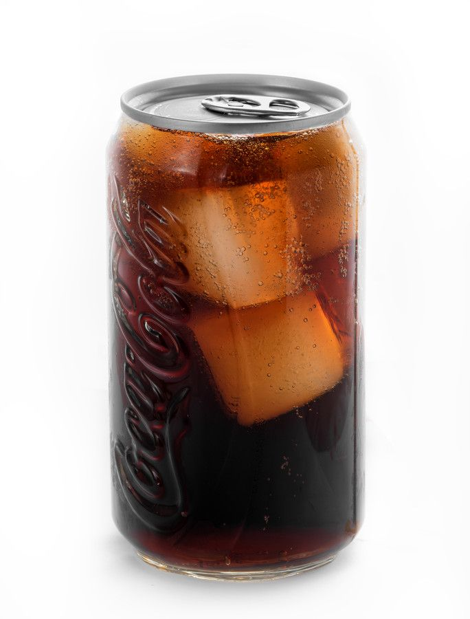 coke can in a glass by Bruce Thionville on 500px