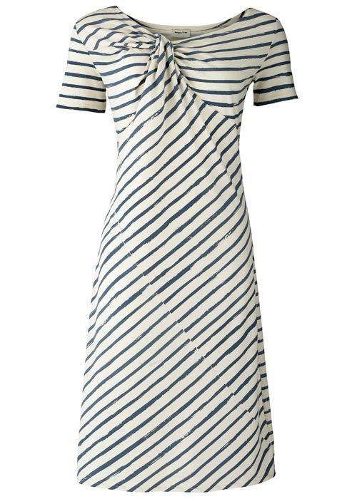 Stripes.Fashion, People Trees, Clothing, Stripes Twists, Twists Dresses, Trees Sales, Domestic Sluttery, Dreams Dresses, Stripes Dresses