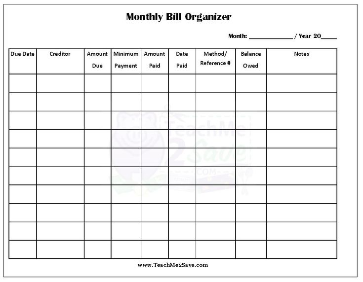 Best 20+ Bill template ideas on Pinterest | Budget spreadsheet ...